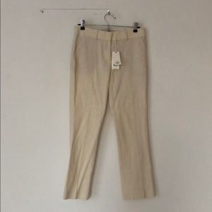 Tory Burch kick crop work pants